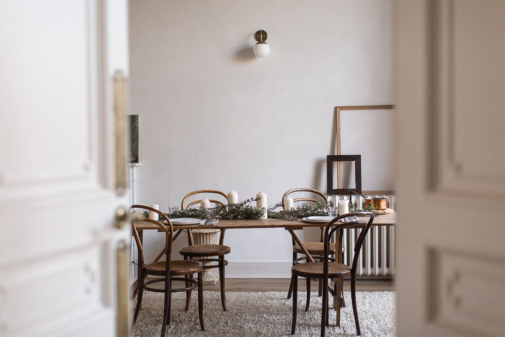 natural dining room decor