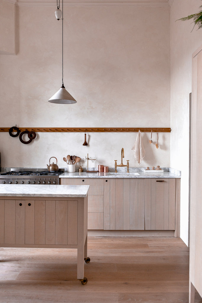 natural organic kitchen for slow living