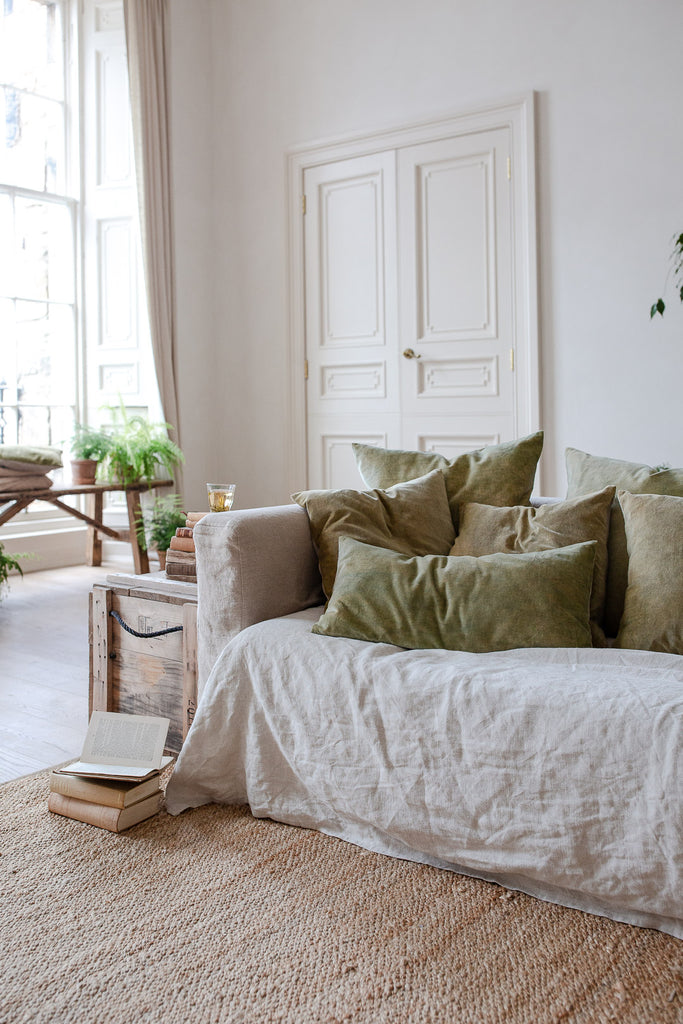 slow natural home decor in neutral colours