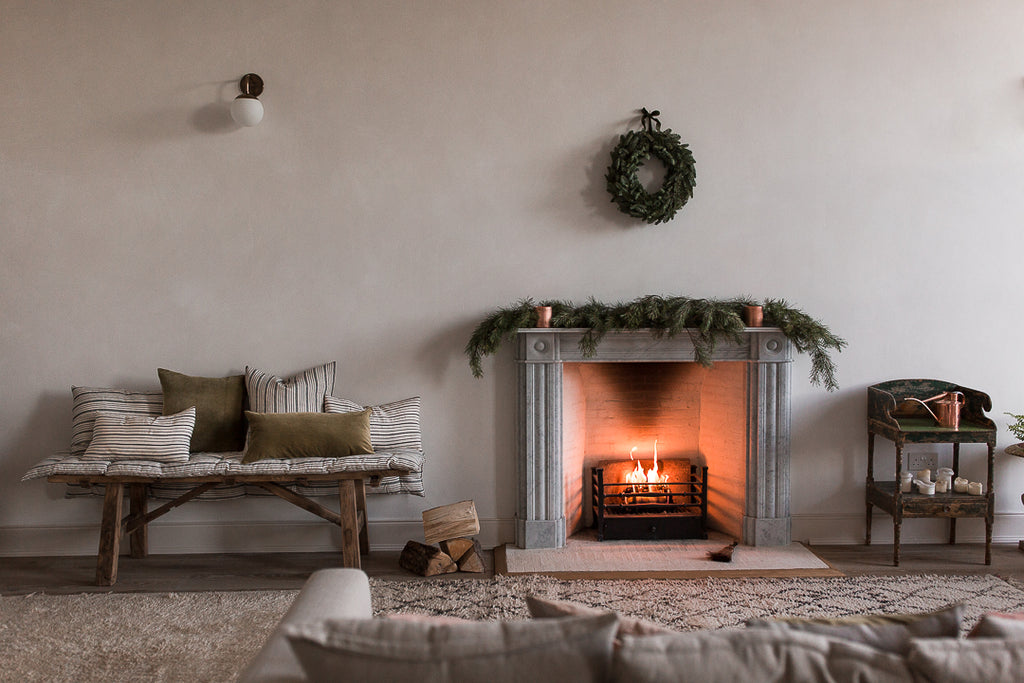simple Christmas decorations for the natural home