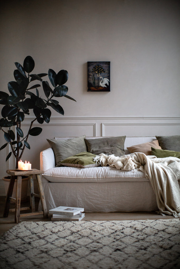 natural home decor for a calming atmosphere