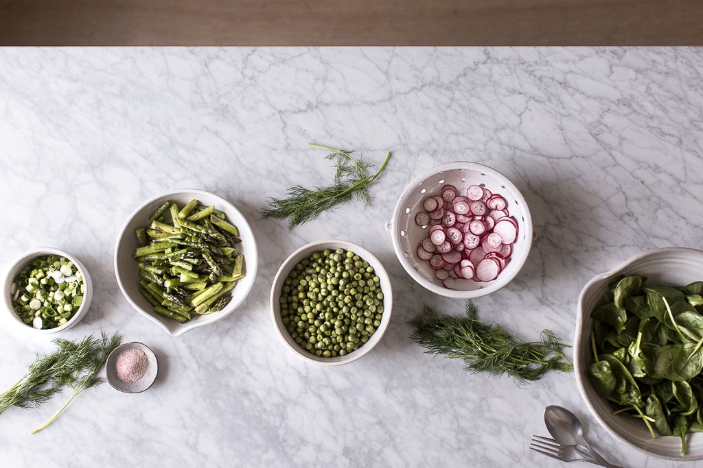 handmade food styling bowls
