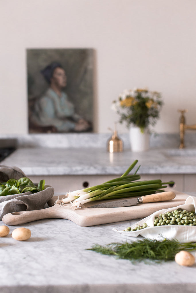 slow living food styling blogger props