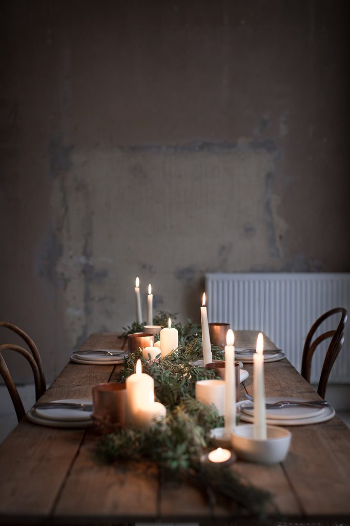 INGREDIENTS LDN candlelit tablescape