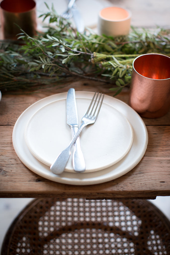 INGREDIENTS LDN green and copper tablescape
