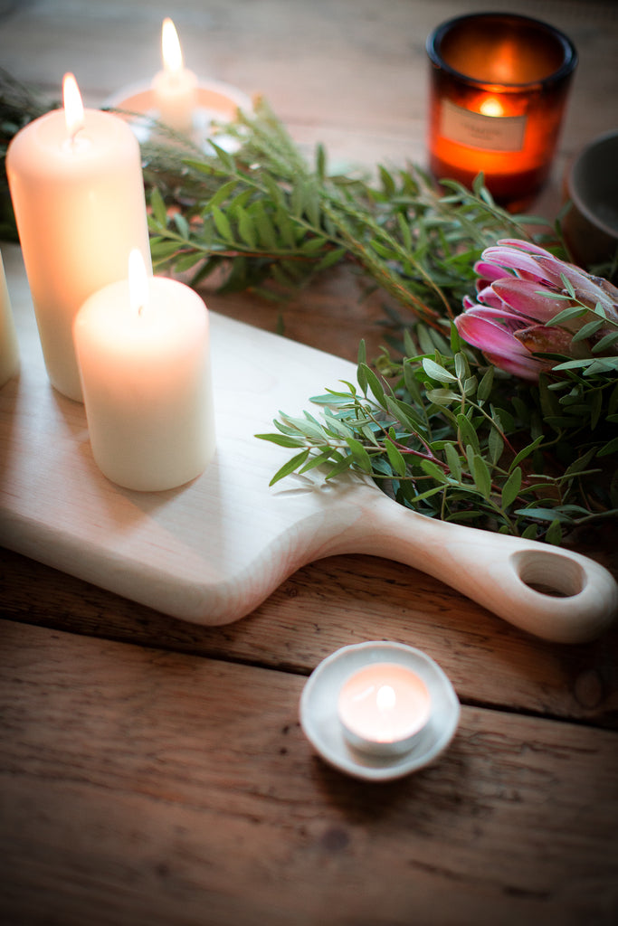 INGREDIENTS LDN candle table decor