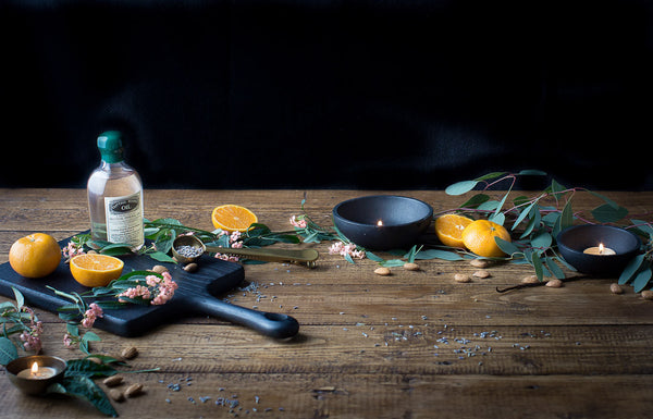 caring for cutting board with natural cutting board oil