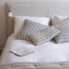 HANDWOVEN COTTON CUSHION COVERS IN BRETON STRIPES