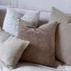 HANDWOVEN COTTON CUSHION COVERS IN PLAIN STRIPES