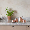 COPPER TEA AND COFFEE CANISTER