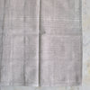 DISCONTINUED HANDWOVEN COTTON CUSHION COVER IN SOFT CHARCOAL 40cm x 60cm