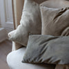 HAND DYED LINEN CUSHION COVERS IN ISBAR