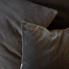 HAND DYED VELVET JEWEL CUSHION COVERS IN BOATHOUSE