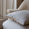 HAND DYED VELVET CUSHION COVERS IN LAMBENT LIGHT