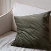 EX-PROP HAND DYED VELVET CUSHION COVERS IN TALLEY'S FOLLY