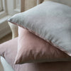 HAND DYED VELVET JEWEL CUSHION COVERS IN POINTE
