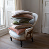 handmade velvet cushion covers in pastel colours uk