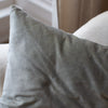 HAND DYED VELVET JEWEL CUSHION COVERS IN STILL WILLEM