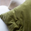 Hand dyed luxury velvet cushion covers UK