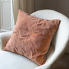 Handmade luxury copper velvet cushion covers uk