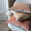 Kirsten Hecktermann velvet cushion covers