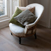 handmade velvet cushion covers in muted colours