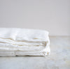 HANDMADE LINEN TABLECLOTH IN OFF-WHITE
