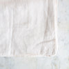 HANDMADE LINEN TABLECLOTH IN WARM WHITE
