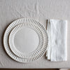 HANDMADE LINEN NAPKIN SET IN OFF-WHITE