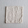 HANDMADE LINEN NAPKIN SET IN WARM WHITE