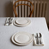 HANDMADE HEAVY LINEN NAPKIN SET IN OFF-WHITE