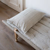 EXTRA LARGE HANDWOVEN COTTON CUSHION COVER IN PLAIN STRIPES
