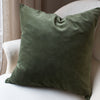 HAND DYED VELVET JEWEL CUSHION COVERS IN WALDEN