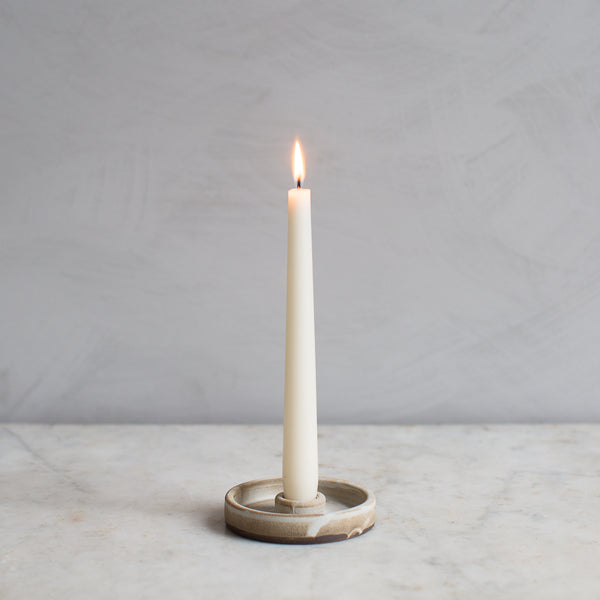 INGREDIENTS LDN Notary ceramics candle stick saucer UK