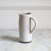 TALL SIMPLE PITCHER IN MATTE GREY
