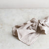 plant dyed soft grey linen napkins