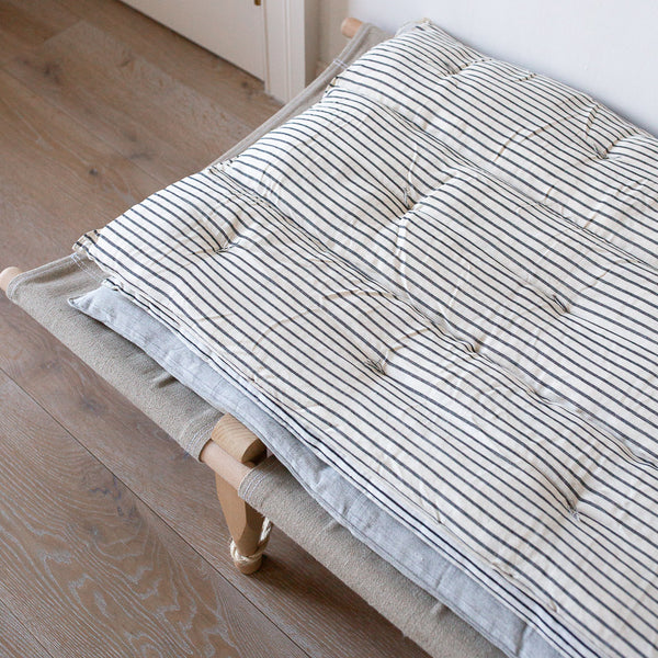 KAPOK SAFARI DAYBED MATTRESS IN PLAIN  STRIPES