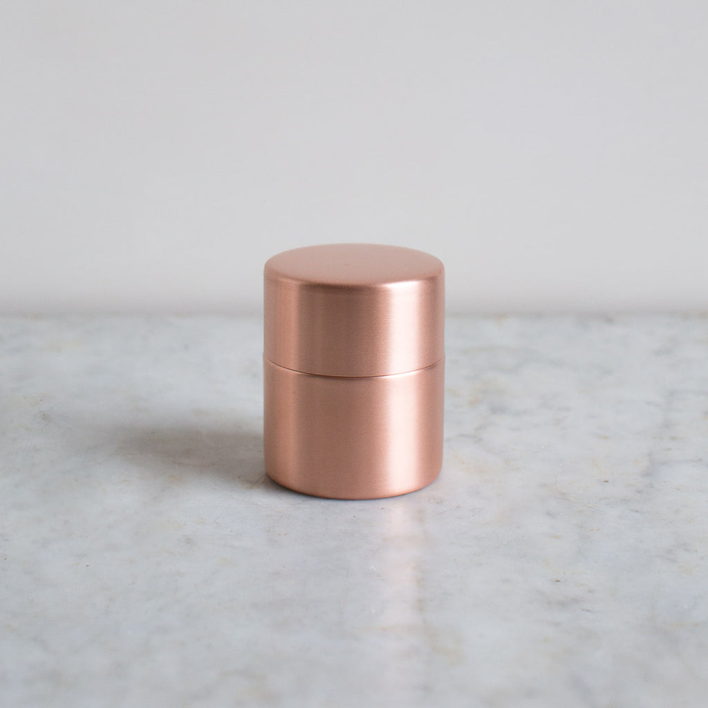 medium copper azmaya canister