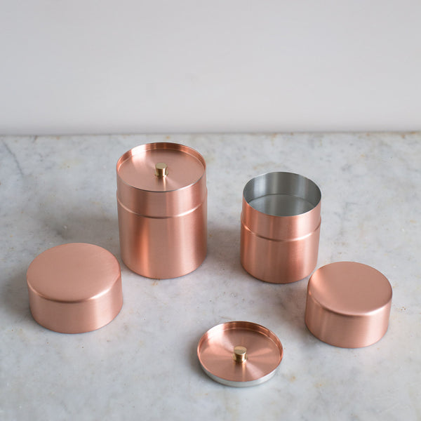 copper azmaya canister