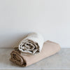 pure Belgian linen throw blanket bed cover