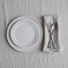 pure Belgian linen napkins in natural