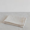 Belgian linen napkins in light beige