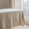 sustainably produced Belgian linen tablecloth
