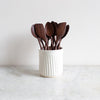 handmade walnut cooking spoons and spatulas  uk