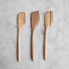 HAND CARVED SWEET GUM COOKING SPATULA