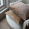 pale pink handmade velvet cushion covers uk