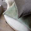 hand dyed handmade ethical velvet cushions uk