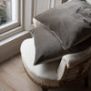 handmade grey velvet cushion covers uk
