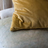 HAND DYED VELVET JEWEL CUSHION COVERS IN COLONEL