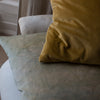 HAND DYED VELVET CUSHION COVERS IN COLONEL